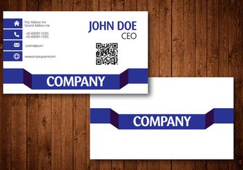 Creative Business Card - vector #420975 gratis