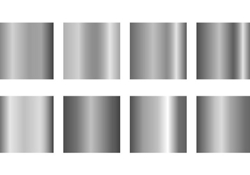 Set Of Grey Gradient Vectors - Free vector #421505