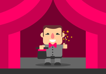 Magic Show Vector - Free vector #421695