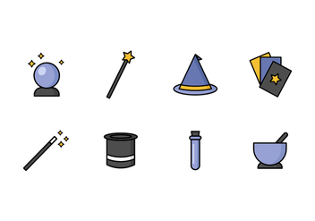 Free Magic Vector Icons - бесплатный vector #422095