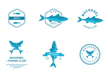 Mackerel Logo Design - vector #422635 gratis