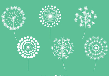Dandelions Collection Vectors - Free vector #423475