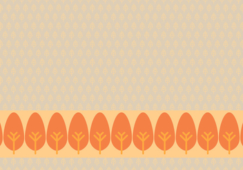 Orange Leafy Background Daun Vector - Kostenloses vector #423485