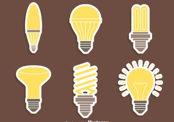 Nice Light Lamp Vectors - Free vector #423525