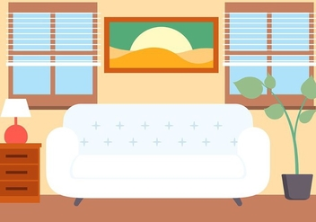 Free Vector Lounge Illustration - Kostenloses vector #423755