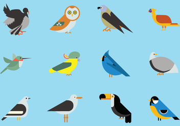 Birds Icon Collection - Kostenloses vector #424155