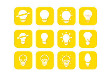 Free Yellow Ampoule Vector Collection - vector gratuit #424285
