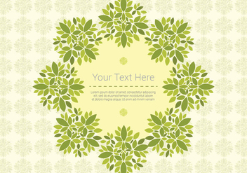 Leaf Background Pattern - бесплатный vector #424405