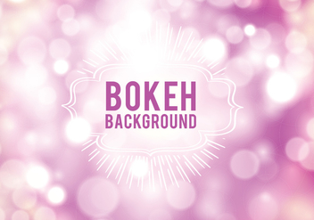Bokeh Background - vector gratuit #424905