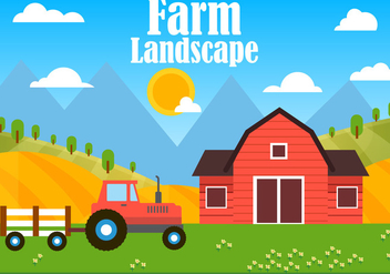 Free Farm Vector Illustration - Kostenloses vector #424995