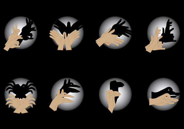 Free Shadow Puppet Vector - бесплатный vector #425175