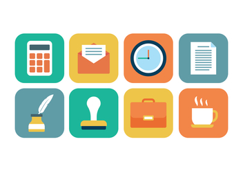 Free Office Icon Set - Free vector #425185