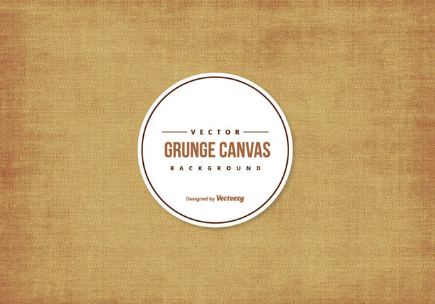 Grunge Canvas Texture Background - vector gratuit #425445