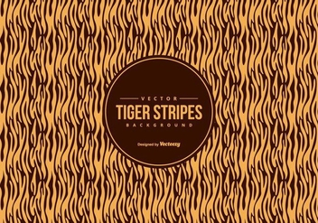 Orange/Black Tiger Pattern Background - vector #425495 gratis