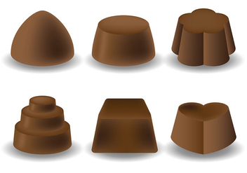 Free Chocolate Icons Vector - Free vector #425665