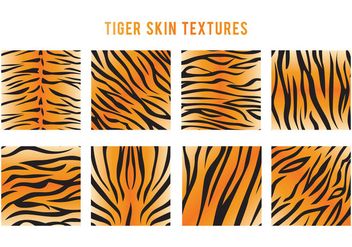 Tiger Stripe Vector - Free vector #425725