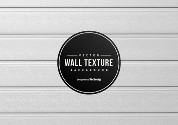 White Wood Wall Panel Background - vector gratuit #425775