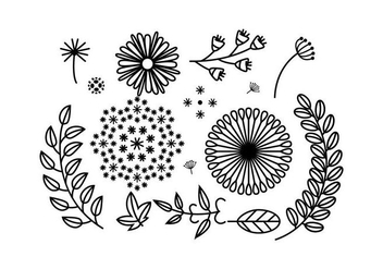 Free Floral Ornament Vector - Free vector #425895