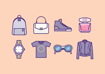 Free Fashion Icons - vector gratuit #426105
