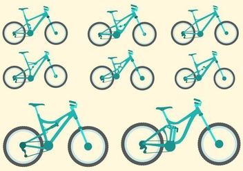 Free Bike Vector Collection - бесплатный vector #426225