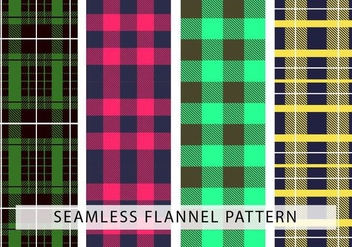 Flannel Seamless Vector Pattern - бесплатный vector #426295