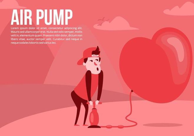 Love Air Pump Background - Free vector #426515