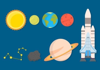 Free Space Vector Collection - vector #426715 gratis