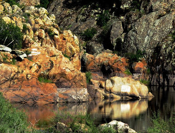 Stanislaus RIver Swimming Hole, California - Free image #426955