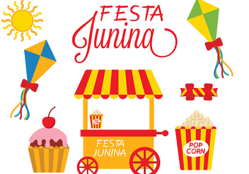 Festa Junina Icon Vector - бесплатный vector #427115