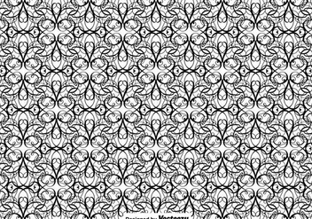 Vector Flourish Seamless Pattern - Free vector #427355