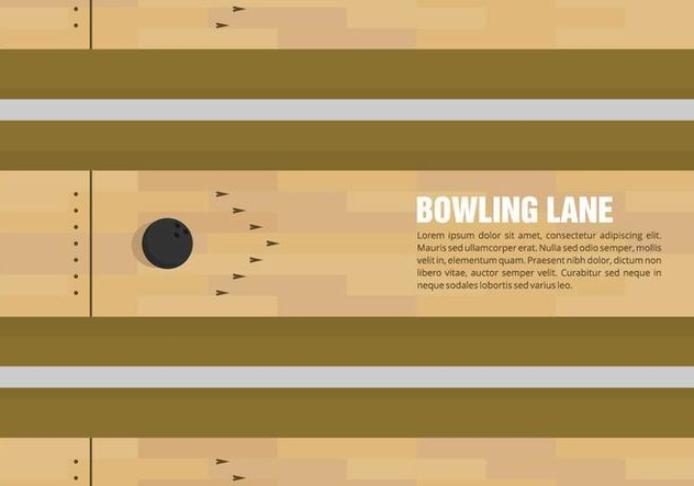 Bowling Lane Vector - Free vector #428115