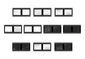 Free Film Grain Vector - бесплатный vector #428155