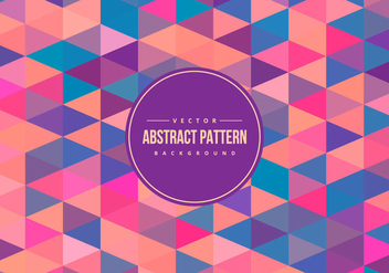 Colorful Abstract Polygon Pattern Background - Free vector #428165
