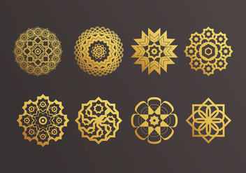 Islamic Ornaments Vector - vector #428295 gratis
