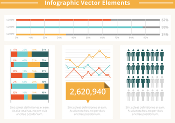 Free Flat Infographic Vector Elements - Kostenloses vector #428715
