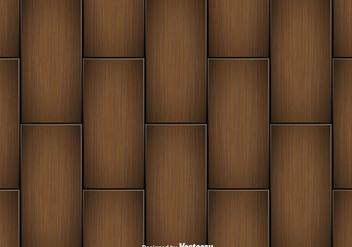 Wooden Planks Vector Seamless Pattern - Free vector #429025