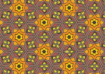 Free Islamic Ornament Pattern Vector - бесплатный vector #429065