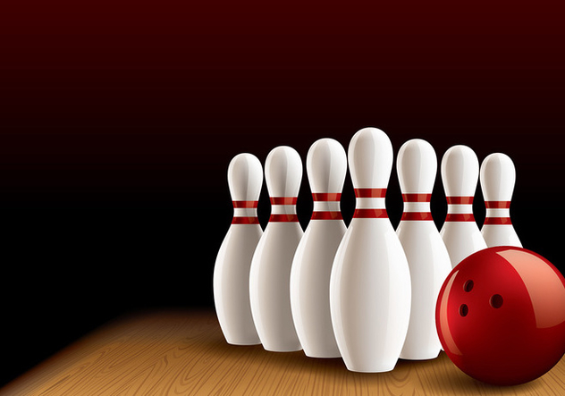 Bowling Lane Realistic Vector - Free vector #429245