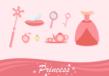 Coral Princess Element Free Vector - Free vector #429325