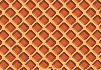 Vector Waffle Close Up Seamless Pattern - Free vector #429525