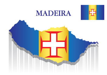 Madeira Map - vector #430165 gratis