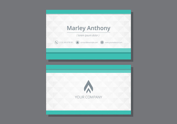 Tarjetas. Name Card Template - Free vector #430205