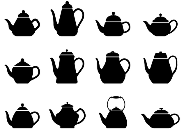 Free Teapot Silhouette - Free vector #430265