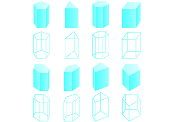 Set Of Prisma Vectors - Free vector #430445