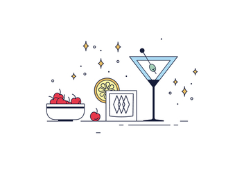 Free Cocktails Vector - бесплатный vector #430475