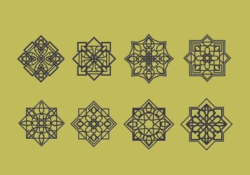 Islamic Ornaments Vector Decoration - Free vector #430545
