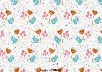 Floral Vector Pattern - Free vector #430555