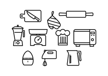 Free Cooking Icon Vector - vector #430975 gratis