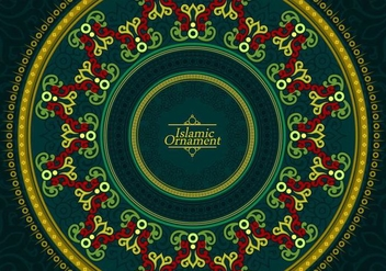 Islamic Ornament Free Vector - бесплатный vector #431295
