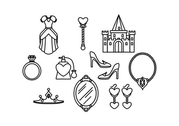 Free Princesa Icon Vector - бесплатный vector #431565